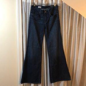 Gap High Rise Trouser 28 / 6 Bell Bottoms